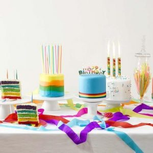 Birthday Candles, Ice Fountains & Sparklers & Cake Picks